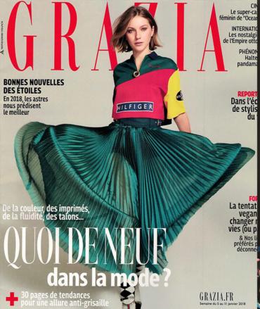 Magazine Grazia 01/2018