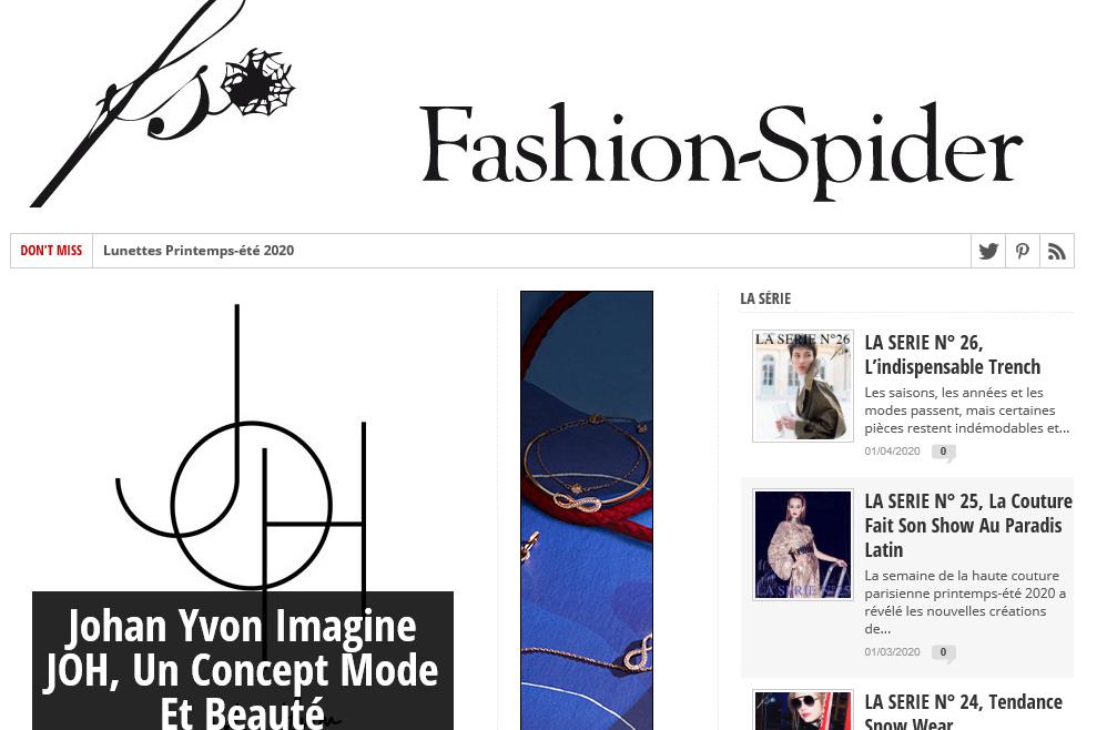Fashion Spider 05/2020